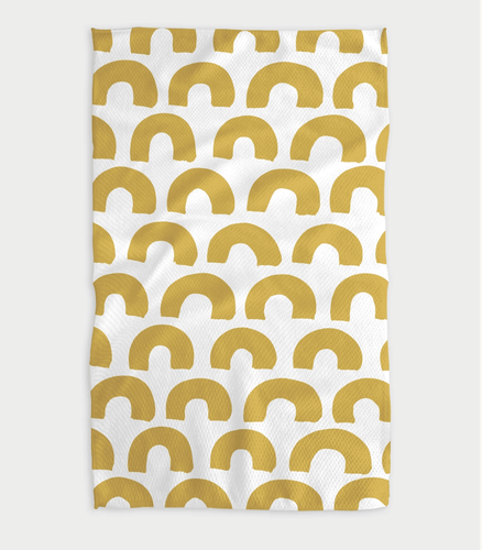 Sunny Hills Kitchen Tea Towel - Adele Gilani Art Gallery