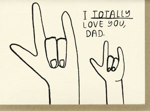 Totally Love You, Dad - Adele Gilani Art Gallery