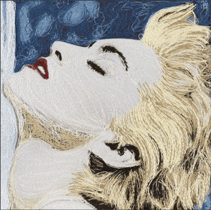 True Blue, Madonna - Adele Gilani Art Gallery