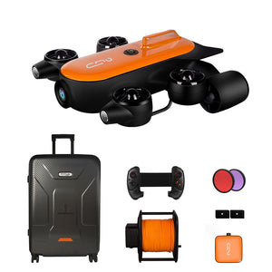 Geneinno T1, 1st professional diving drone that can equip with robotic arm.(robotic arm is NOT included in this item)