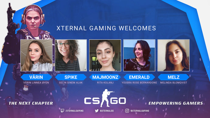Welcome Our First Female Team!