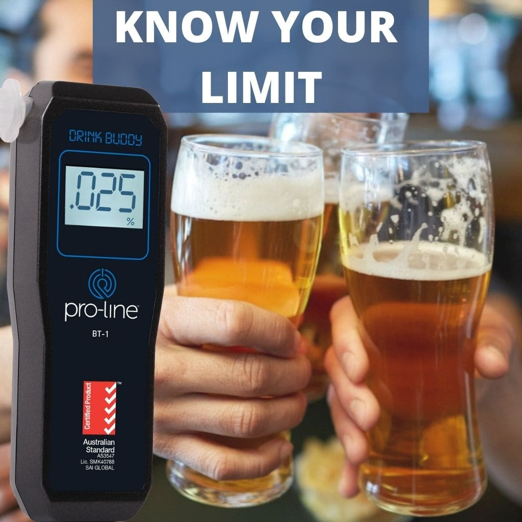 Drink Buddy Breathalyser BT-1 Know Your Limit