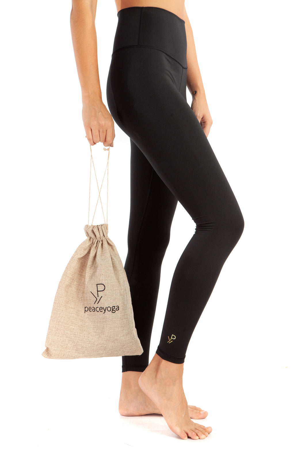 PeaceYoga Recycled Fabric Leggings