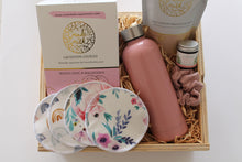 Load image into Gallery viewer, Breastfeeding nursing new mum hamper gift newborn baby gift increase milk supply nursing pads lactation cookies nipple balm lactaction smoothie ecofriendly drink bottle keepsake gift baby luxe beginnings