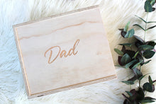 "Load image into Gallery viewer, ""DAD"" Keepsake Boxes"
