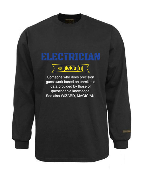 Electrician Flame & Arc Flash Resistant Custom Graphic Work Shirt Ilektricn