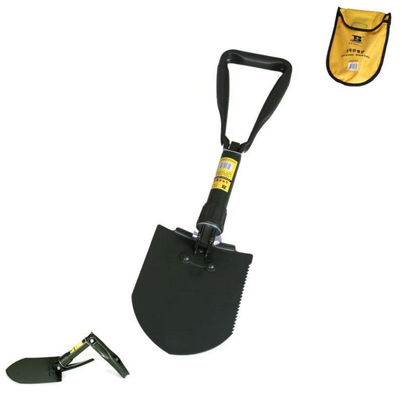 Durable Manganese Steel Folding Shovel