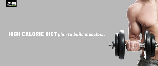 High Calorie Diet Plan to Build Muscles