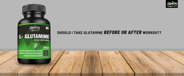 Should I Take Glutamine Before Or After Workout?