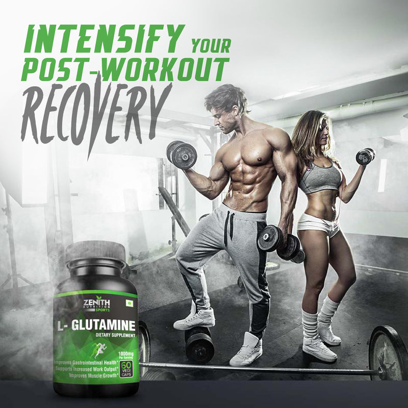 glutamine post work out recovery