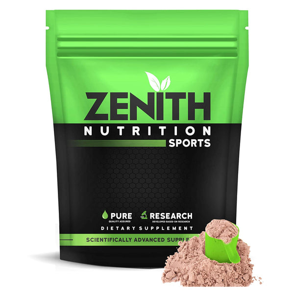 Zenith Sports Mass Gainer with Enzyme blend | Added Glutamine (Double Rich Chocolate) Buy 3kg Mass gainer online