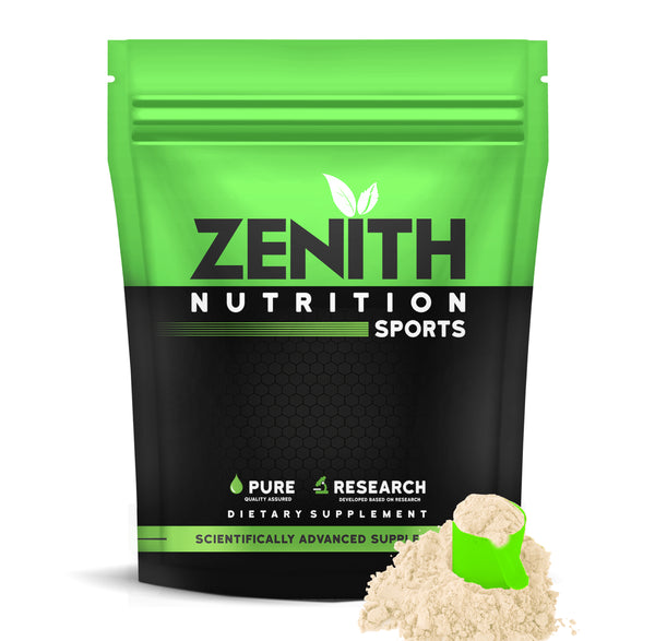Zenith Whey Protein with Enzymes for Digestion | 26g protein | Natural Sweetener –  (French Vanilla) - ZenithSports.in