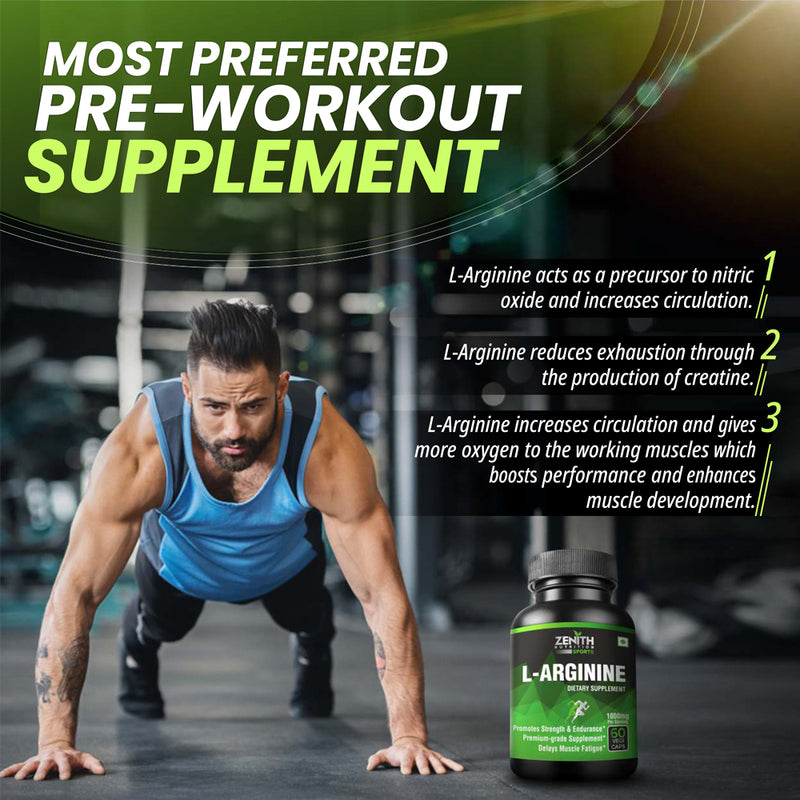 l arginine most preferred pre work out