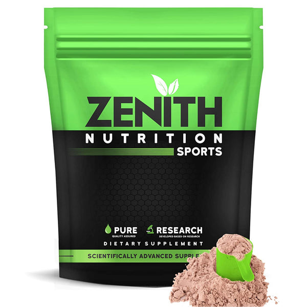 Zenith Sports Whey Protein with | 26g protein – (Double Rich Chocolate)
