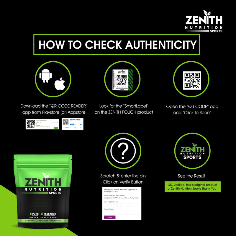 authenticity zenith sports