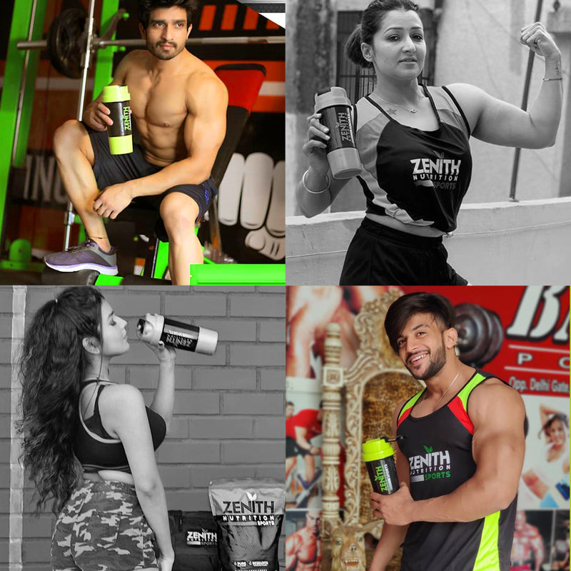 Zeinth sports brand ambassadors