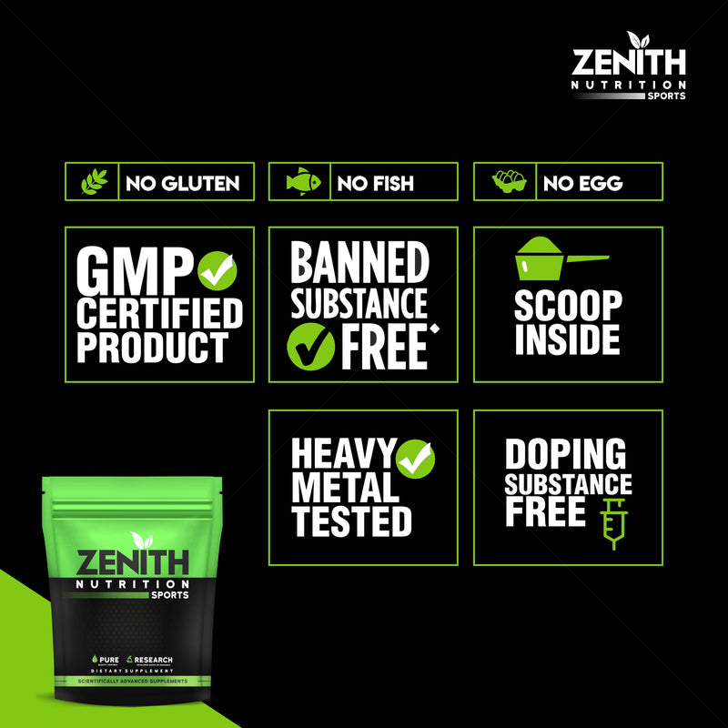 Zenith Sports Whey Protein with Enzymes for Digestion | 26g protein | Best Whey Protein In India |   (French Vanilla)