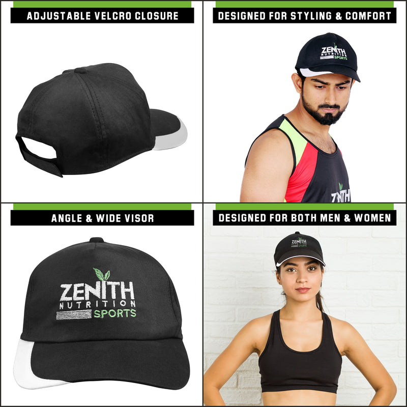 Zenith Sports Cotton Solid Cap For Gym & Casual Use