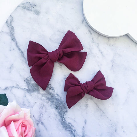 Pinwheel ~ Wine Red L/M
