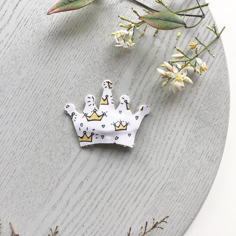 Princess Crown ~ Snap Clip