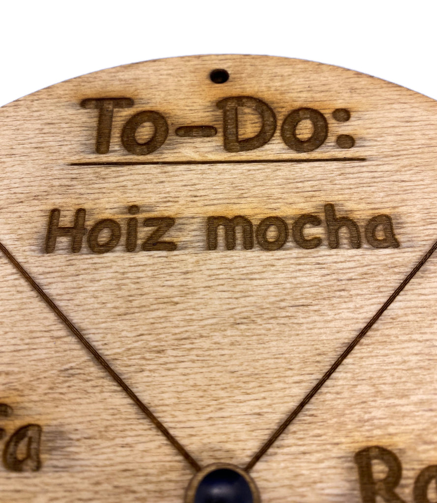 Holz-To-Do deutsch / bayrisch Version