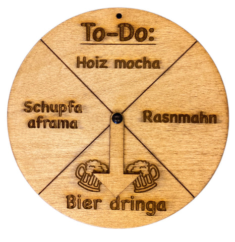 Image of Holz-To-Do deutsch / bayrisch Version
