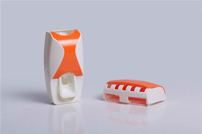 Automatic Toothpaste Dispenser + 5pcs Toothbrush Holder - Carpdi
