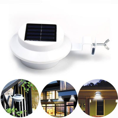Solar LED Gutter Light 4 LED - Carpdi