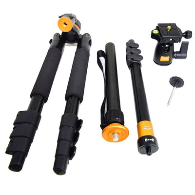 Camera Tripod Monopod&Ball Head for Digital DSLR Camera - Carpdi