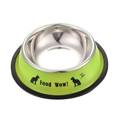 Durable And Non-Toxic Stainless Steel Pet dog cat Feeding Bowl