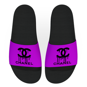 Dripping Chanel Snap Slides