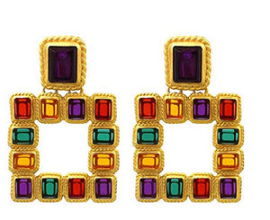 Colorful Geo Studs