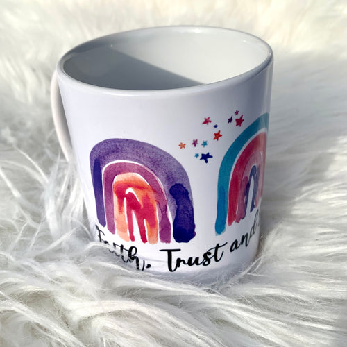 Chicibeanz rainbow dust mug
