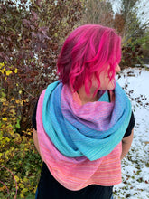 Load image into Gallery viewer, Sugar Reef 2m scarf with hemmed ends - Natty cotton weft