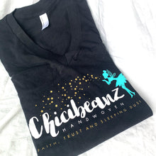 Load image into Gallery viewer, Soft Chicibeanz logo print shirt