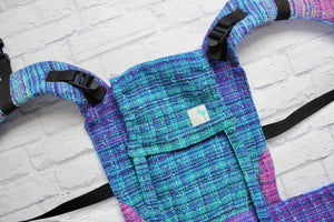 Doll size carrier in crackle weave - in stock