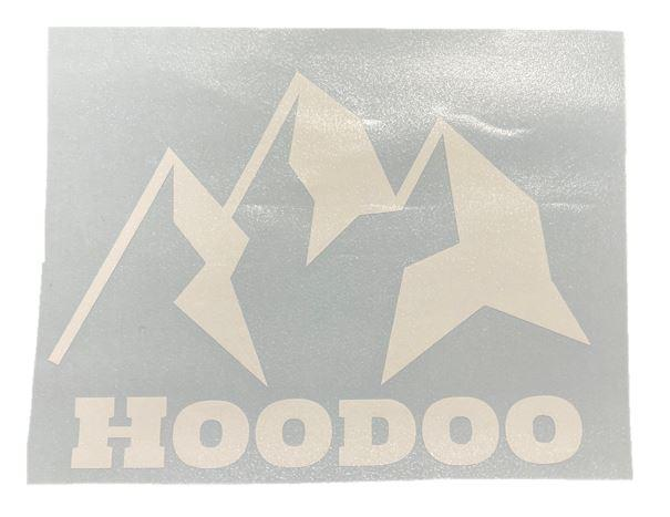 HOODOO Vinyl Window Decal - Hoodoo Sports