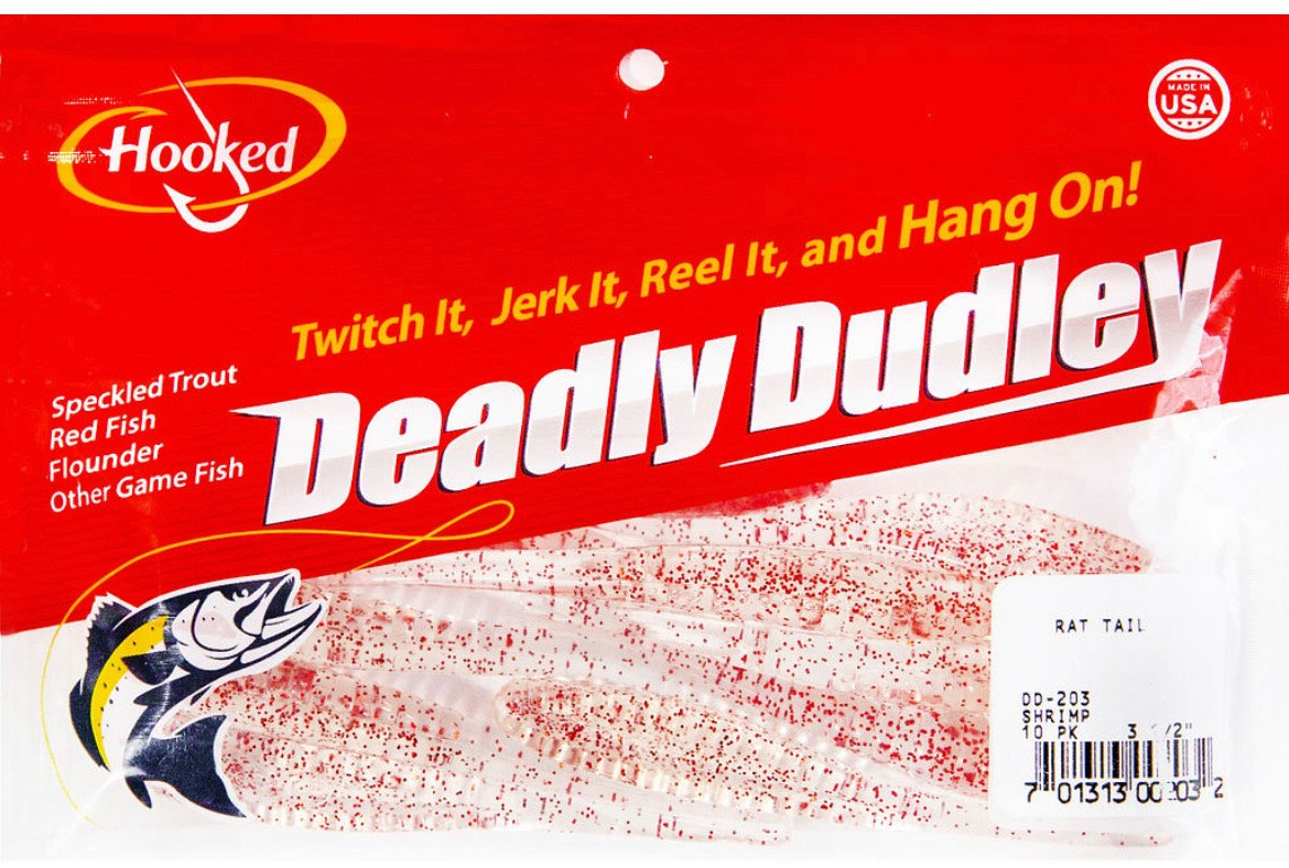 Deadly Dudley - Rat Tail Shrimp - Hoodoo Sports