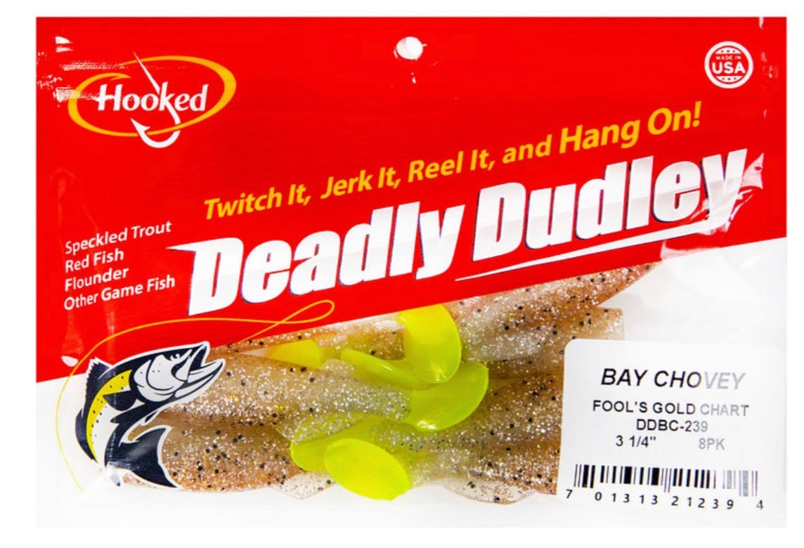 Copy of Deadly Dudley - Bay Chovey Fools Gold Chart - Hoodoo Sports