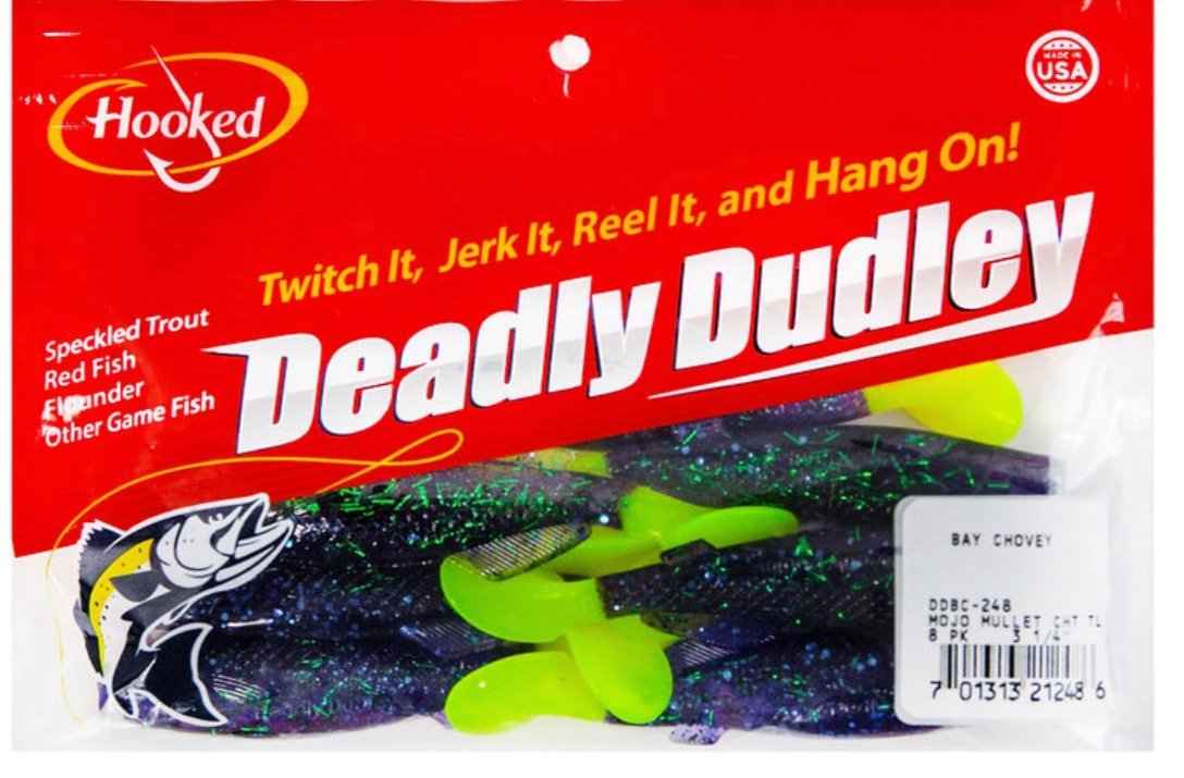 Deadly Dudley - Bay Chovey Mojo Mullet Chart - Hoodoo Sports