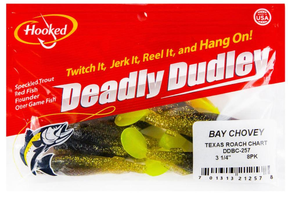 Deadly Dudley - Bay Chovey Texas Roach Chart - Hoodoo Sports