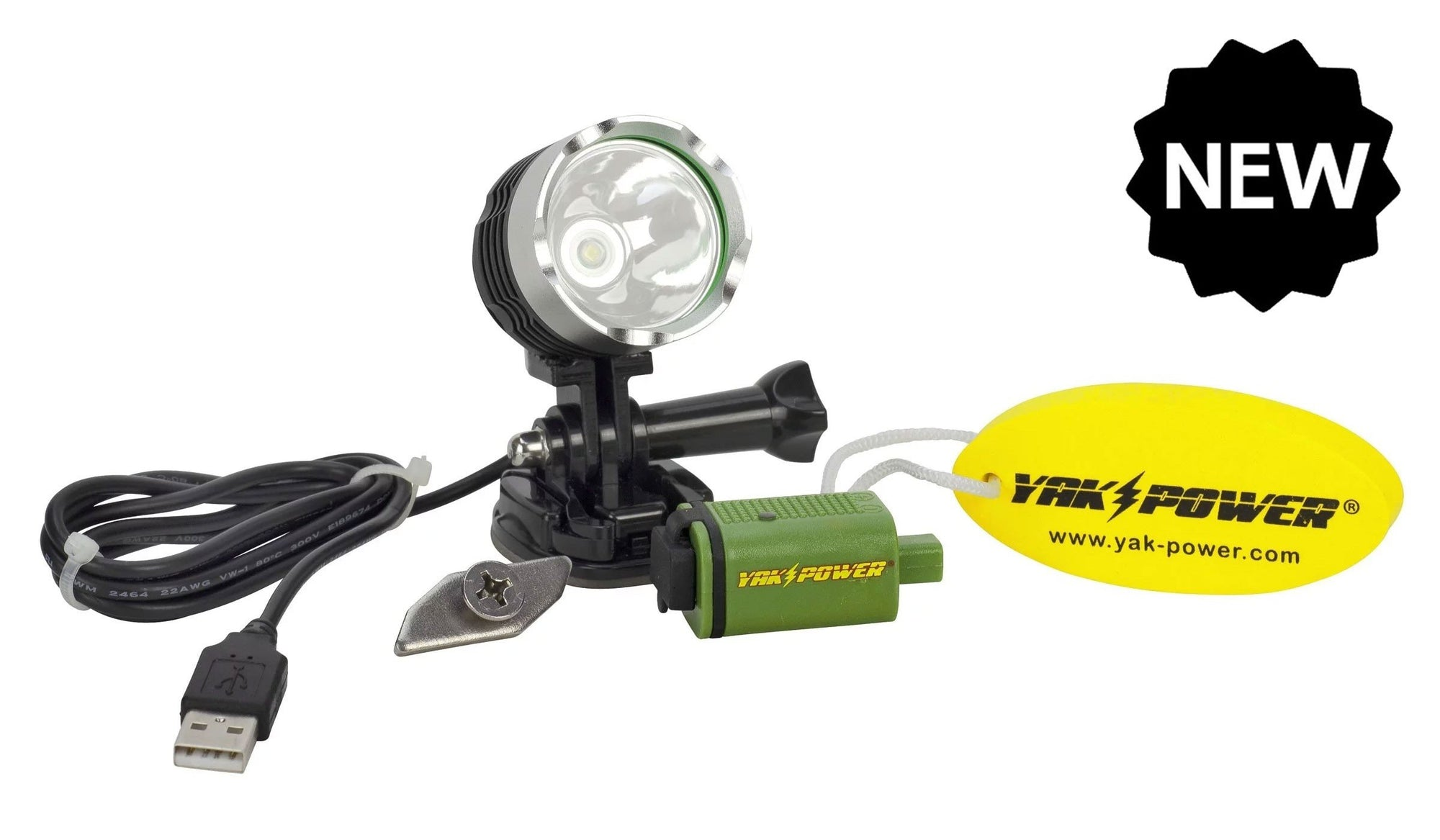 USB Spot & Safety Light - Hoodoo Sports