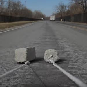 Nycon Real-World Abrasion Test: Regular Concrete vs TUFF-MIX (Video)