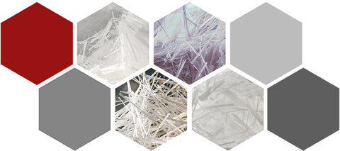 Collage of Polyvinyl Alcohol PVA Fibers for Concrete by Nycon