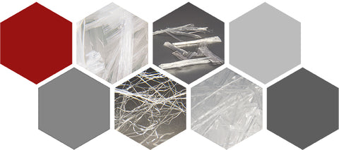 Collage of Polypropylene Fibers for Concrete by Nycon