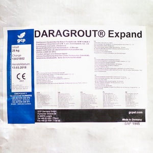 Closeup image of Daragrout Expand (ST) Label
