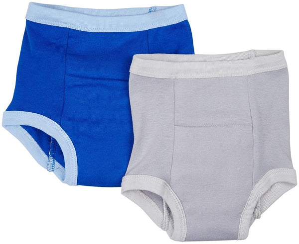 green sprouts 2-pack Training Pants Royal Blue/Gray