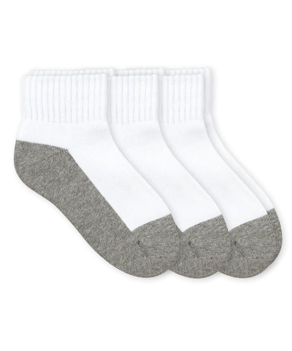 Quarter Socks Jefferies White/Gray