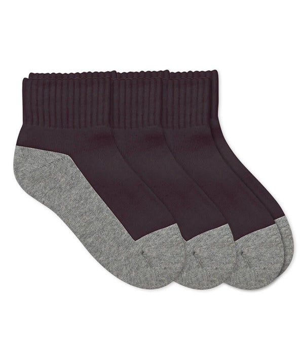 Quarter Socks Jefferies Black/Gray