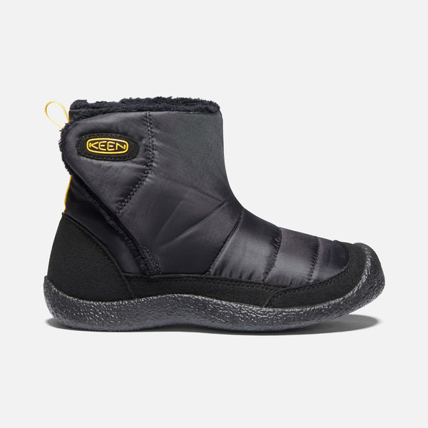KEEN Howser II Black/KEEN Yellow Lightweight Slip-On Boot